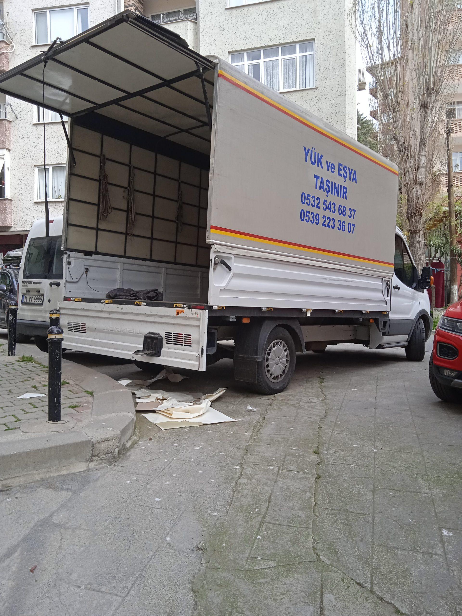 kamyonet nakliyat